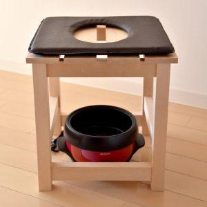 全体に蒸気を広げるオリジナル椅子